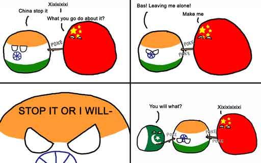India and China
