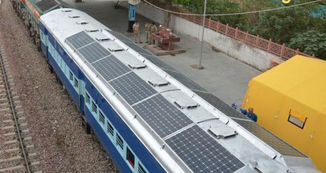 Solar DEMU Trains Start Rolling